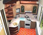 Небольшая кухня