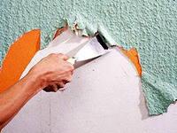 Подготовка стены для поклейки обоев
