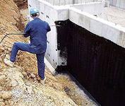 Защита фундамента от грунтовых вод