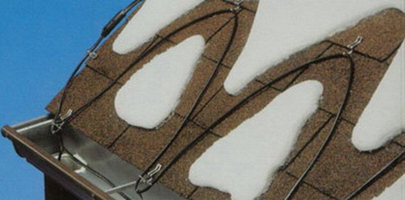 система снеготаяния для крыш