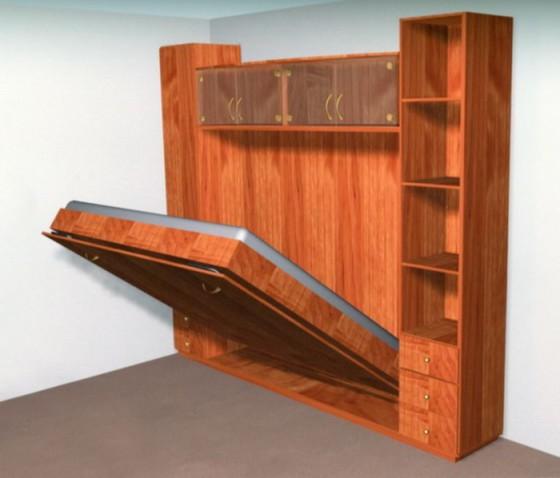 Современные технологии в дизайне маленькой спальни