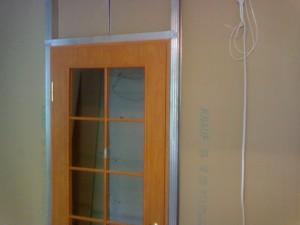 Установка-двери
